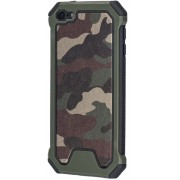 GadgetBay Leger survivor TPU hardcase iPod Touch 5 6 7 hoesje case cover army camo groen
