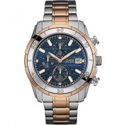 GUESS Multi Synthetic Round Dial Quartz Watch For Men (W0746G1)