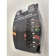 Punjač za laptop strujni Gembird NPA-AC5D 90W+QC3.0, 8 nastavaka