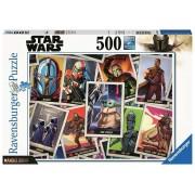 Ravensburger Star Wars: The Mandalorian - Trading Cards Puzzle