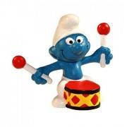 Schleich Schlelich - The Smurfs - 1966 - Drummer Smurf