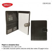 Mapa A4 cu Calculator Daco MC101