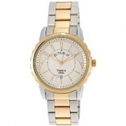 Timex Quartz White Round Men Watch TI000E31800