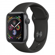 Apple Watch Series 4 GPS 40mm in alluminio grigio siderale - Sport Nero