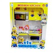 Fancy Minion Design Modern Kitchen Set For Kids