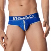Gigo HOLLOW BLUE Brief Underwear G01096