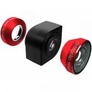 olloclip 4 in 1 voor iPhone 4/4s   Zwart / Rood