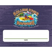 Vacation Bible School (Vbs) 2018 Rolling River Rampage Nametag Cards (Pkg of 24): Experience the Ride of a Lifetime with God!