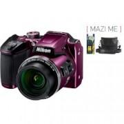 Digital Camera B500 Purple + Зарядно и батерии
