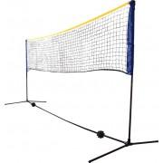 Combi - Uniwersalny zestaw siatka + słupki wolnostojące (do badmintona/mini-tenisa/siatkówki)