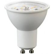 Led spot GU10, 5W, 510 lumen, 2700 kelvin, meleg fehér, nem vibrál, a garancia 3 év!