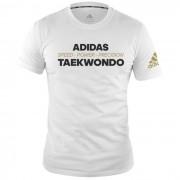 Adidas T-Shirt TKD Speed Power Precision Vit