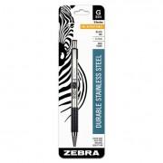 G301 Roller Ball Retractable Gel Pen, Black Ink, Medium