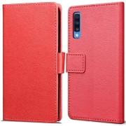 Book Wallet hoesje voor Samsung Galaxy A70 - rood