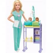 Кукла Barbie - Игрален комплект Педиатър, 1710177