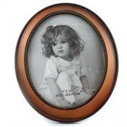 Rama foto vintage rotunda maro