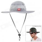 De NatureHike aire libre Pesca Quick-Dry Bloqueador solar Sombrero Cap - Gris