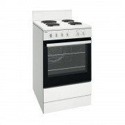 Chef CFE536WB 54CM Upright Freestanding Electric Oven