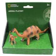 Set 2 figurine Apatosaurus National Geographic, 3 ani+