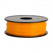 Filament pentru Imprimanta 3D 1.75 mm PLA 1 kg - Portocaliu Fluorescent