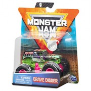 Figurina Monster Jam Metalice 1:64, Grave Digger