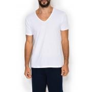 Jockey Удобная мужская футболка из бархатистого хлопка белого цвета (2 шт.) Jockey 25001823 (муж.) (2 шт.) Белый