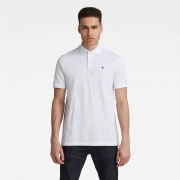 G-star RAW Hommes Dunda Polo Blanc