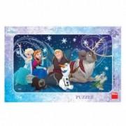 Puzzle - Frozen Snowflakes 15 piese