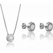 Victoria Walls Set de cercei și colier cu mama de perla VS1059S
