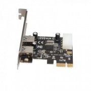 Card PCI-Express 2 porturi USB 3.0 A HOPE R