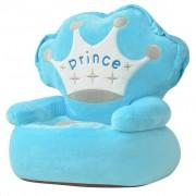 """vidaXL vidaXLi plüüsist lastetool """"Prince"""", sinine"""