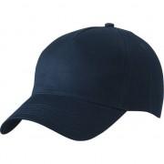 Myrtle Beach 5-panel baseball caps navy blauw dames en heren