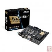 Asus H110M-C/CSM, Intel H110, VGA by CPU, PCI-Ex16, 2xDDR4, VGA/DVI/Serial/USB3.0, mATX (Socket 1151)