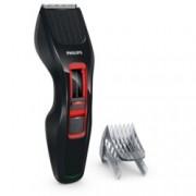 Машинка за подстригване Philips HC3420, Hairclipper Series 3000, ножчета от неръждаема стомана, до 60 мин. с едно зареждане, черна