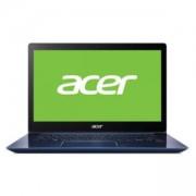 Лаптоп Acer Swift 3 SF314-52-311U, 14.0 инча IPS FHD, Intel Core i3-7130U, Intel HD Graphics 620, 4GB DDR4, 256GB SSD, Син, NX.GPLEX.013