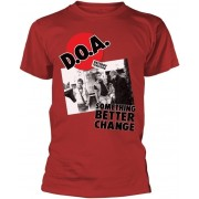 D.O.A Something Better Change T-Shirt M
