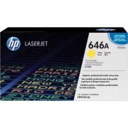 HP Originale Color LaserJet Enterprise CM 4540 MFP Toner (646A / CF 032 A) giallo, 12,500 pagine, 1.46 cent per pagina