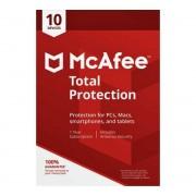 McAfee Total Protection 2020 versão completa 10 dispositivos 2 Anos