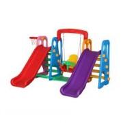 Centru De Joaca 4 In 1 Happy Slide Multicolor Million Baby