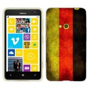 Husa Nokia Lumia 625 Silicon Gel Tpu Model Germany Flag