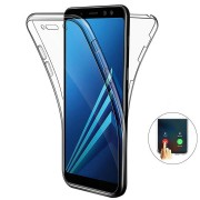 Full Body Clear Touch Screen Protective Case For Samsung Galaxy A7 2018/A8 2018/A8 Plus 2018/A6 2018/A6 Plus 2018