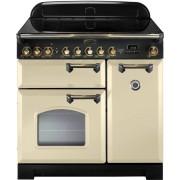 Rangemaster CDL90EICR/B Classic Deluxe Cream 90cm Induction Range Cooker