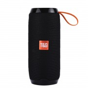 TG106 Portable Multi-function Bluetooth Speaker with MIC Support TF Card FM Hands-free - Black