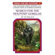 Book - Search for the Mountain Gorillas 'With Collectable Cards', Paperback/Jim Wallace