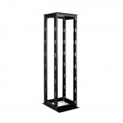 RACK, MIRSAN MR.OPR26UDF66.01, 535 x 660 x 1200 мм / 26U, отворен, черен, OPEN RACK DOUBLE FRAME