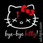 T-shirt Bye Bye Kitty