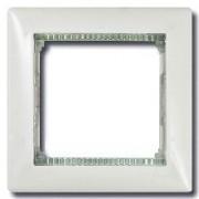 Рамка 1 пост Legrand Valena белый/кристалл