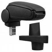 [pro.tec]® Naslon za ruke – specifičan za Renault Clio IV (X98) - naslon za ruke za auto - sa pretincem - umjetna koža - crno