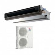 Duct Mitubishi Electric 32000 BTU inverter PEAD-RP100JAQ + PUHZ-ZRP100YKA