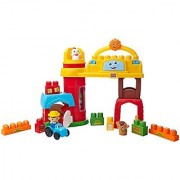 Mega Bloks First Builders Bobby Barn Musical Farm